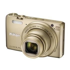Nikon Coolpix S7000 + pouzdro zlatý