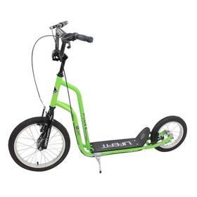 """LIFEFIT Rider 16""""/12"""" zelená + Reflexní sada 2 SportTeam (pásek, přívěsek, samolepky) - zelené v hodnotě 58 Kč + Doprava zdarma"""