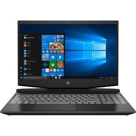 Notebook HP Pavilion Gaming 17-cd0002nc (7GP26EA#BCM) černý/bílý