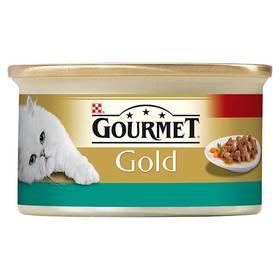 Gourmet Gold s lososem a kuřecím 85g