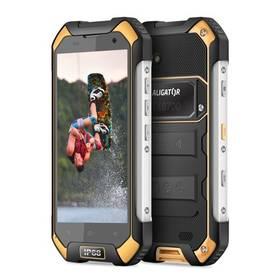 Aligator RX550 eXtremo Dual SIM (ARX550BY) černý/žlutý + Doprava zdarma