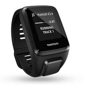 Tomtom Spark 3 Cardio + Music + Bluetooth sluchátka (L) (1RKM.002.10) černé + Doprava zdarma