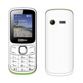 MaxCom Classic MM129 Dual SIM (MM129WHDS) bílý/zelený