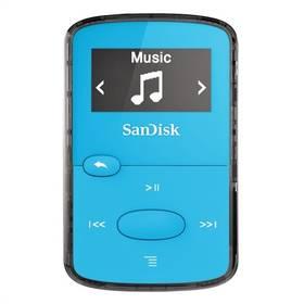 Sandisk Sansa Clip JAM 8 GB (SDMX26-008G-G46B) modrý