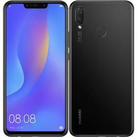 Huawei nova 3i (SP-NOVA3IBOM) černý SIM s kreditem T-Mobile 200Kč Twist Online Internet (zdarma)