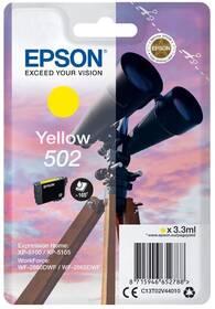 Epson 502, 165 stran (C13T02V44010) žltá