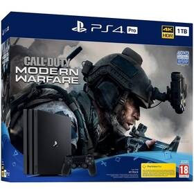 Sony PlayStation 4 Pro 1 TB + Call of Duty: Modern Warfare (PS719324300)
