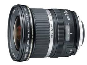 Canon EF-S 10-22mm f/3.5-4.5 USM (9518A030AA) černý + Doprava zdarma