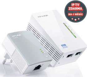 TP-Link TL-WPA4220 KIT + IP TV na 1 měsíc ZDARMA (TL-WPA4220KIT) biely