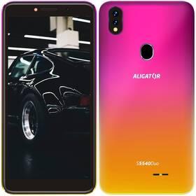 Aligator S5540 Dual SIM (AS5540PG) růžový/zlatý