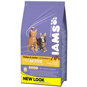 Iams Kitten rich in Chicken 10 kg + Doprava zdarma