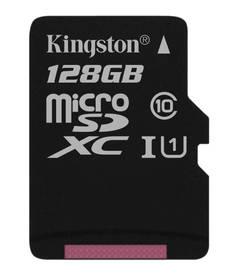 Kingston MicroSDXC 128GB UHS-I U1 (45R/10W) (SDC10G2/128GBSP)