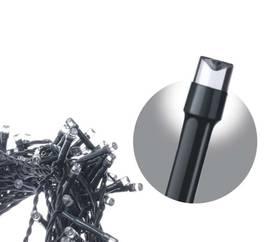 EMOS 200 LED, 10m, řetěz, studená bílá (1534210070)