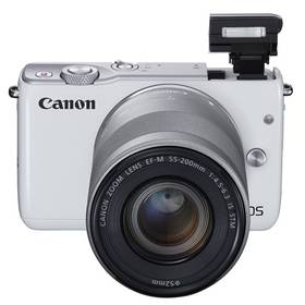 Canon EOS M10 + 15-45mm STM bílý + Doprava zdarma