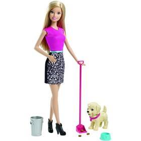Barbie Mattel set pečujeme o štěňátko