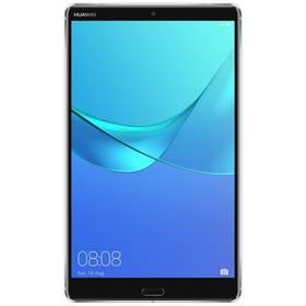 Huawei MediaPad M5 LTE (TA-M584L32TOM) šedý SIM s kreditem T-Mobile 200Kč Twist Online Internet (zdarma) + Doprava zdarma