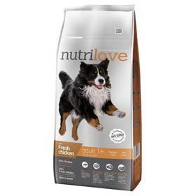 Nutrilove Dog dry Adult L fresh chicken 12kg Konzerva Nutrilove Dog paté Lamb 800g (zdarma)Konzerva Nutrilove Dog paté Chicken 800g (zdarma)