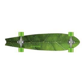 """Street Surfing Fishtail 42"""" The Leaf černý/zelený + Doprava zdarma"""