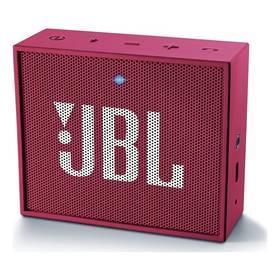 JBL GO růžový