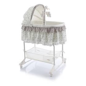 Babypoint Regina Star bílá/béžová + Doprava zdarma