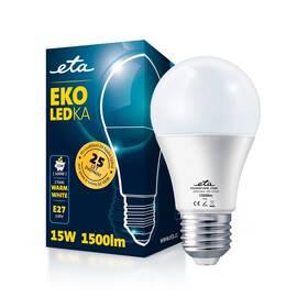 ETA EKO LEDka klasik 15W, E27, teplá bílá (A65W15WW)