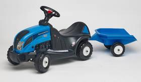 FALK - traktor Landini 165 s volantem a valníkem plast + Doprava zdarma