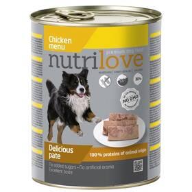 Nutrilove Dog paté Chicken 800g
