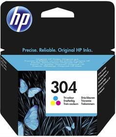 Inkoustová náplň HP 304 (N9K05AE), 100 stran - CMY (N9K05AE)