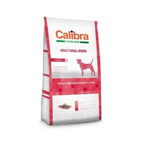 Calibra Dog Grain FreeAdult Small Breed Duck 2kg