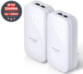 TP-Link TL-PA7020KIT + IP TV na 1 měsíc ZDARMA (TL-PA7020KIT) bílý + Doprava zdarma