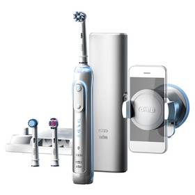 Oral-B Genius PRO 8000 bílý Gillette Fusion Proglide Flexball + gel (Dárková edice JUSTICE LEAGUE) (zdarma) + Doprava zdarma