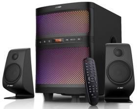 Fenda F&D F580X 2.1, bluetooth, rádio, USB, dálkové ovládání (F580X) černé