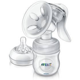 Philips AVENT Natural se zásobníkem 125 ml PP bílá + Doprava zdarma