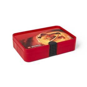 LEGO® s přihrádkami Ninjago červený