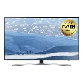 Samsung UE55KU6452 stříbrná + K nákupu poukaz v hodnotě 2 000 Kč na další nákup + Doprava zdarma
