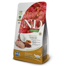N&D Grain Free Quinoa CAT Skin&Coat Quail & Coconut 1,5 kg + Doprava zdarma