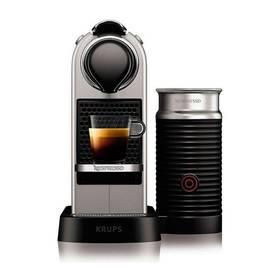 Krups Nespresso Citiz XN760B10 titanium + Doprava zdarma
