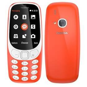 Nokia 3310 (2017) Dual SIM (A00028109) červený SIM s kreditem T-Mobile 200Kč Twist Online Internet (zdarma)