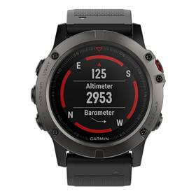 Garmin Fenix5X Saphire Gray Optic (010-01733-01) černé
