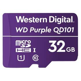 Western Digital Purple microSDHC 32GB UHS-I U1 (WDD032G1P0C)