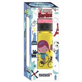 Sigg dětská Travel Girl Shanghai, 0.4L žlutá