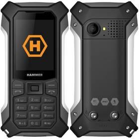 myPhone Hammer Patriot (TELMYHPATRIOTSI) černý/stříbrný