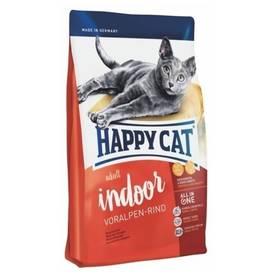 HAPPY CAT ADULT INDOOR Voralpen-Rind / Alpské hovězí 10 kg + Doprava zdarma