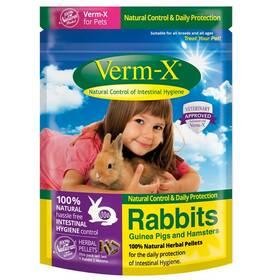 Verm-X Přírodní pelety proti střevním parazitům pro hlodavce 180 g