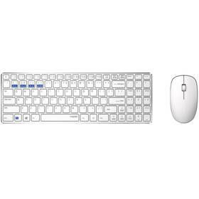 Rapoo 9300M, CZ/SK layout (6940056184740) biela