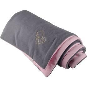Dětská deka Kaarsgaren šedá/růžová