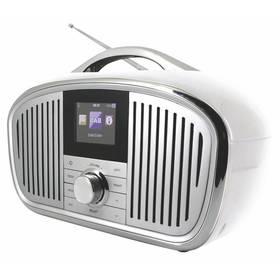 Soundmaster IR4000WE bílý + Doprava zdarma