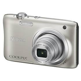 Nikon Coolpix A100 stříbrný + Doprava zdarma