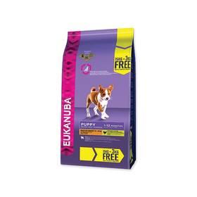 Eukanuba Puppy & Junior Medium Breed 15 kg + 3 kg ZDARMA + Doprava zdarma