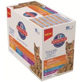 Hill's Adult Chicken+Turkey Multipack 12 x 85g
